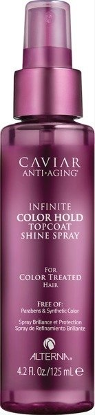 ALTERNA Caviar Infinite Color Hold Topcoat Shine Spray 125ml - spray nabłyszczający i chroniący kolor NOWOŚĆ