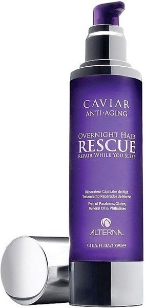 ALTERNA Caviar Overnight Hair Rescue 100ml- kawiorowa maska na noc