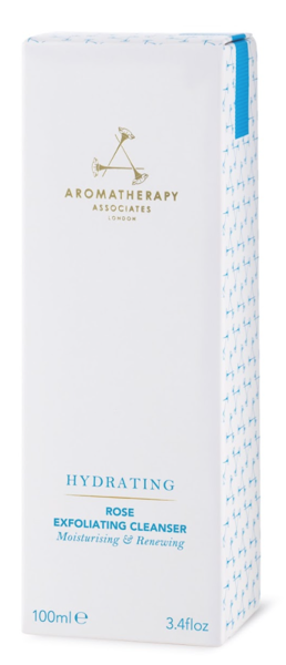 AROMATHERAPY ASSOCIATES Hydrating Rose Exfoliating Cleanser 100ml - delikatny różany peeling do twarzy