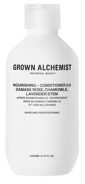 GROWN ALCHEMIST Nourishing Conditioner Damask Rose, Chamomile & Lavender Stem 200ml- nawilżająca odżywka