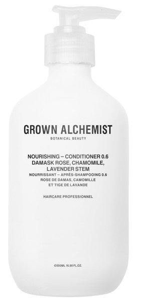 GROWN ALCHEMIST Nourishing Conditioner Damask Rose, Chamomile & Lavender Stem 500ml- nawilżająca odżywka