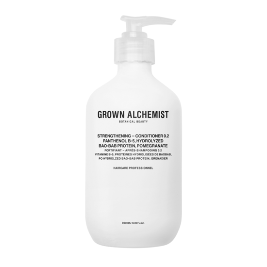 GROWN ALCHEMIST Strengthening Conditioner 0.2 500ml - odżywka regenerująca HIT