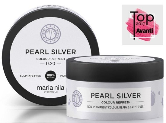 MARIA NILA Colour Refresh 0.20 Pearl Silver 100ml - neutralizator odcieni HIT