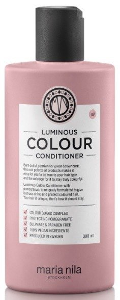 MARIA NILA Luminous COLOUR Conditioner 300ml - odżywka do włosów farbowanych