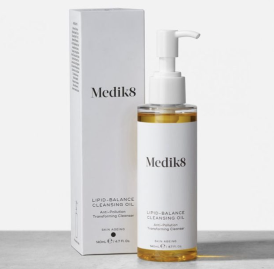 MEDIK8   Lipid Balance Cleansing Oil 140ml - jedwabisty olejek do demakijażu
