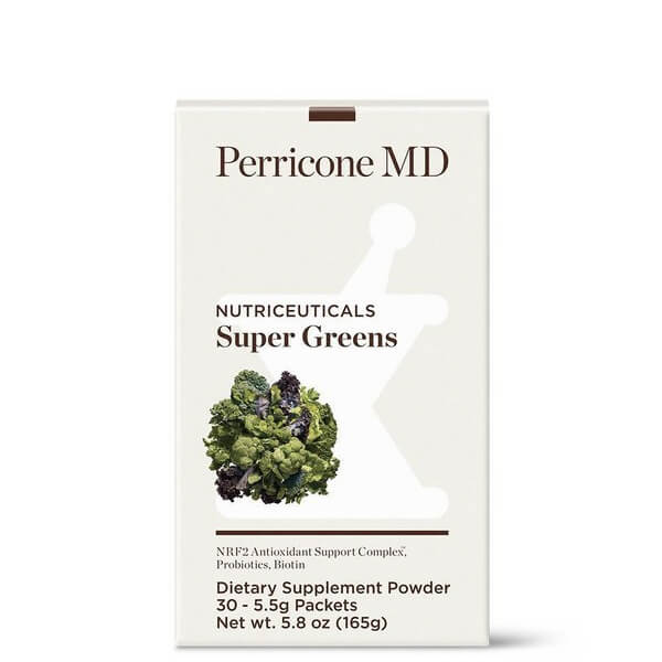 PERRICONE MD Super Greens Suplement Powder 165 G - suplement diety w saszetkach
