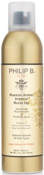PHILIP B Russian Amber Imperial Roots Up!  260ml - spray odbijający włosy od nasady